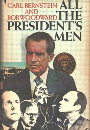 """All The President's Men"" was published in 1974."