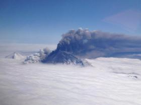 Pavlof Volcano Erupts May 18th, 2013