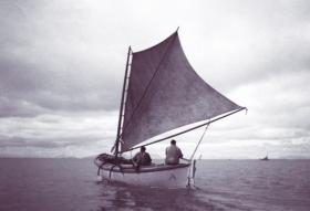A sailboat used to catch salmon in Bristol Bay.