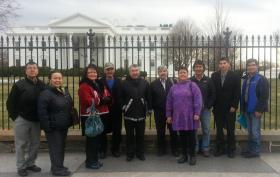 UTBB leaders in Washington, D.C. in December of 2013.