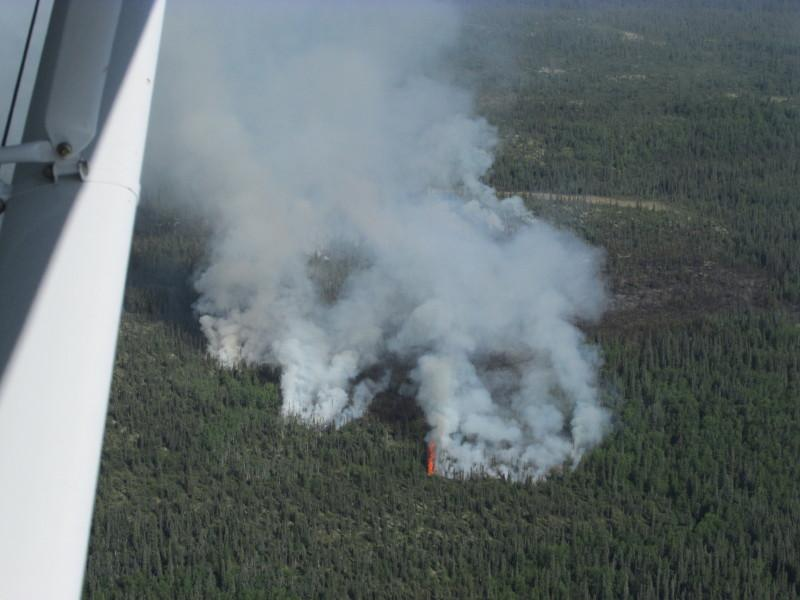 Kristin Creek Fire in Lake Clark National Park and Preserve