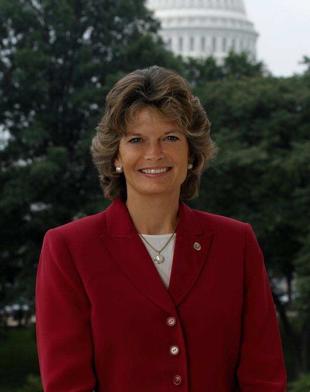 Senator Lisa Murkowski (R) Alaska
