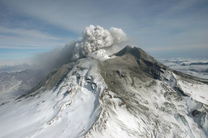 Redoubt Volcano April 30 2009