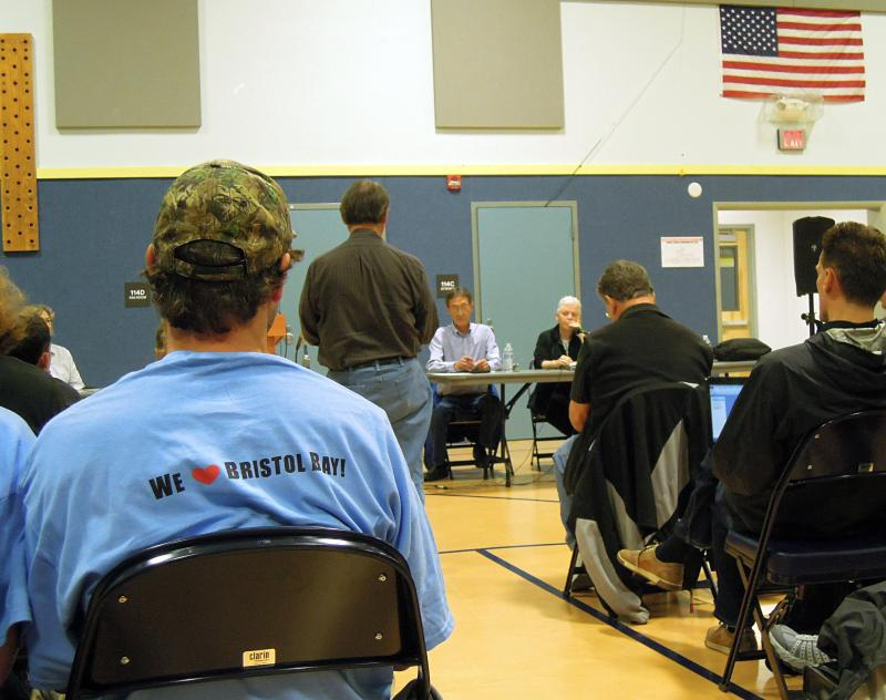EPA Administrator, Gina McCarthy hears testimony from Bristol Bay residents