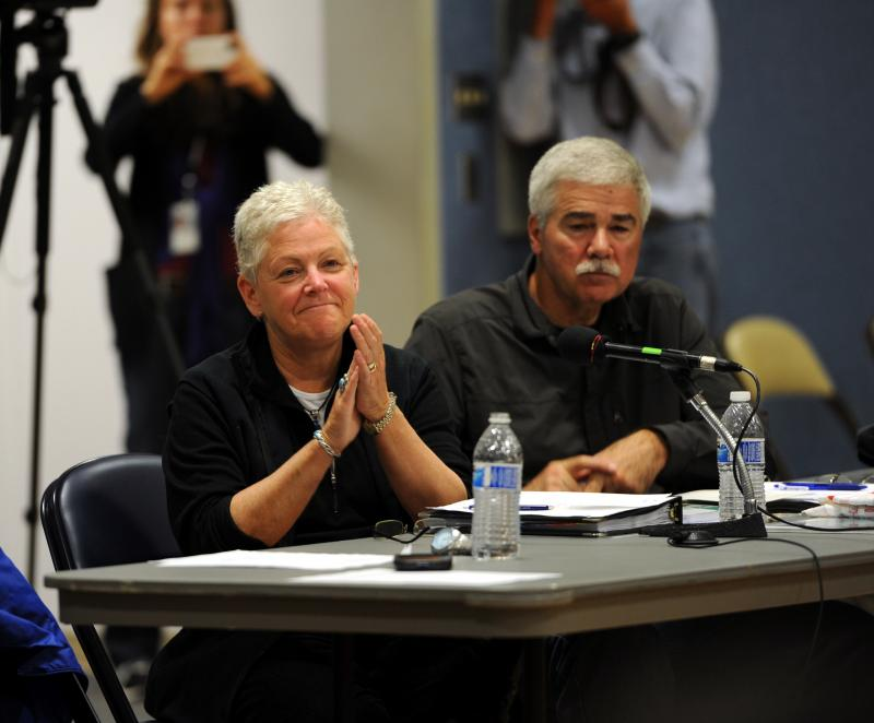EPA Administrator, Gina McCarthy (left) in Dillingham