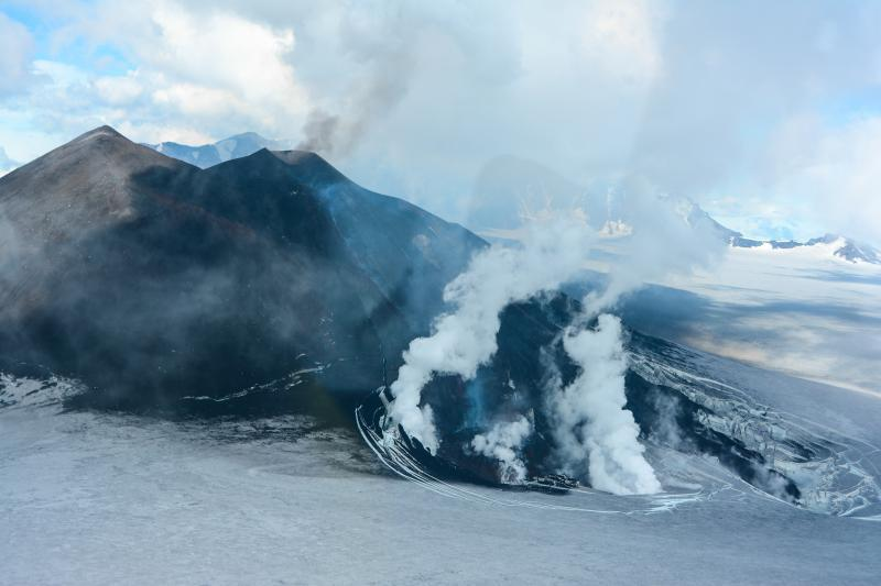 Veniaminof Volcano, July 16, 2013