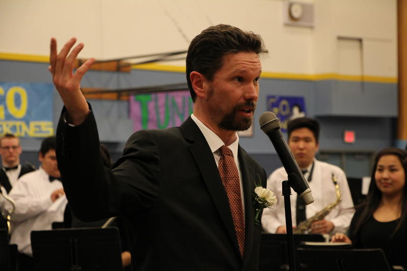 Dillingham music director Shannon Spring coordinated the music festival.