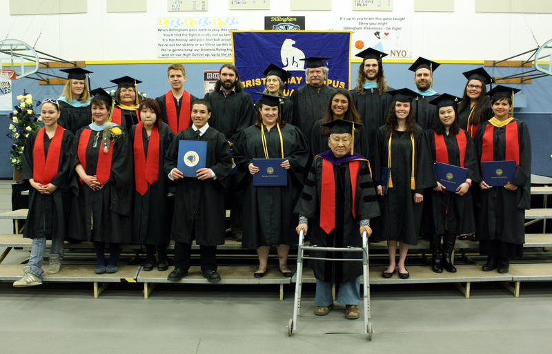Presenting the Bristol Bay Campus Class of 2015 (some graduates not pictured)
