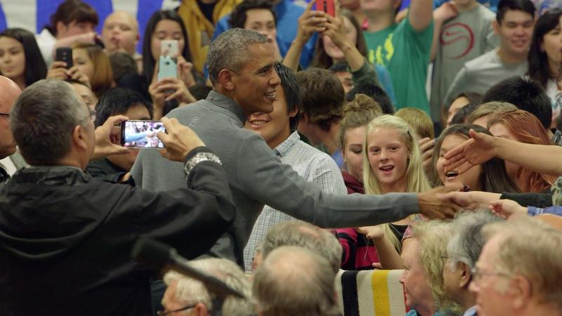 President Obama met with student, staff, and guests at the Dillingham Middle/High School Wednesday.