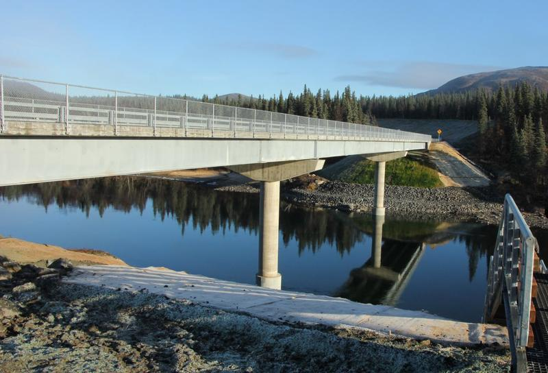 The 440-foot Aleknagik Wood River Bridge connects the south and north shore communities.