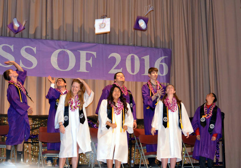 Hats off to the grads! Eight Bristol Bay Angels graduated in Naknek last week.