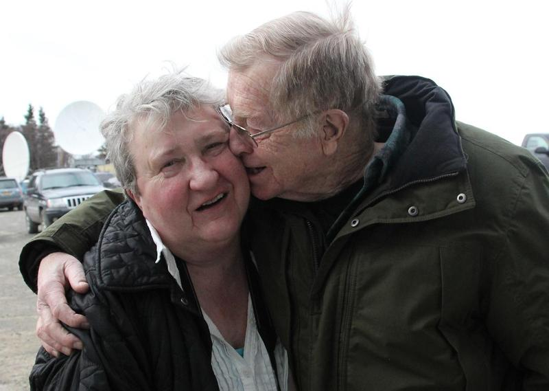 Dave and Johanna Bouker had been married 51 years when they posed for this shot the week of Valentine's Day, 2016.