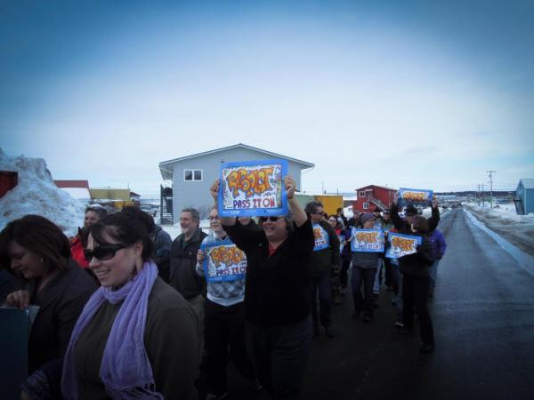"2012 ""Choose Respect"" March in Dillingham"