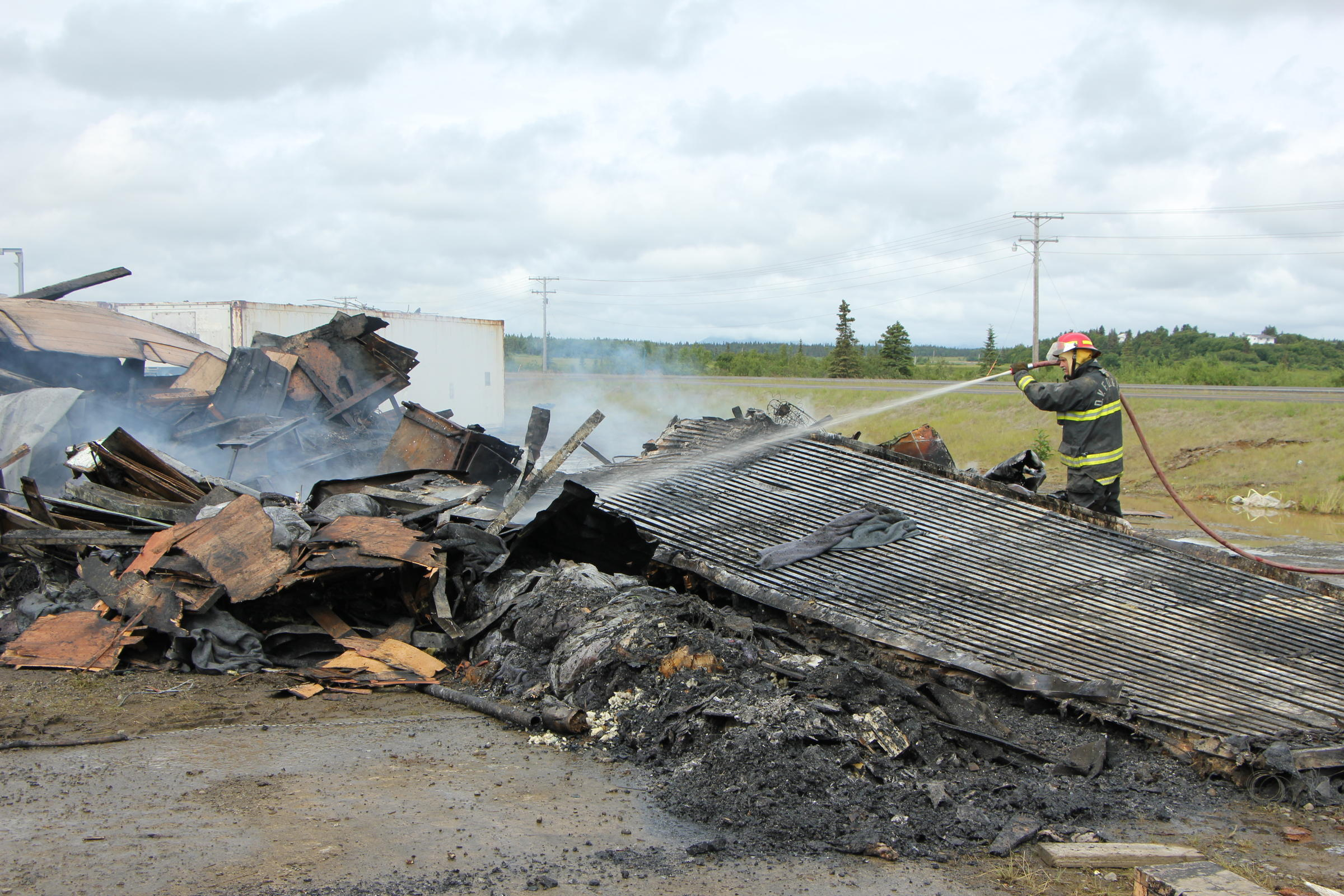Police Arrest Two On Charges Related To Dillingham Harbor Fire