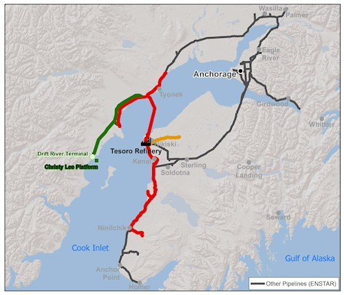 Drift River terminal expected to close with installation of new ...