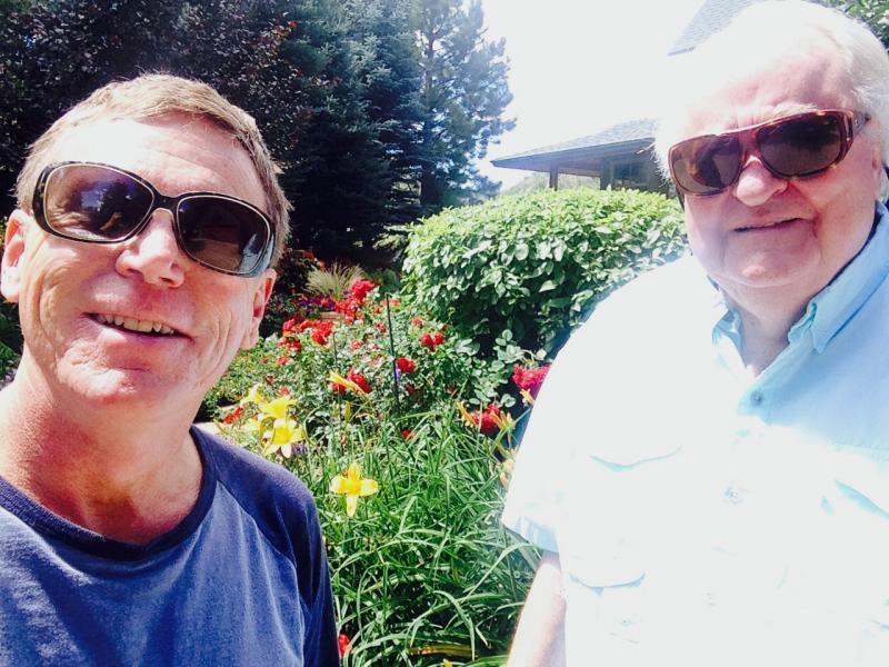 Selfie with Jim Calaway