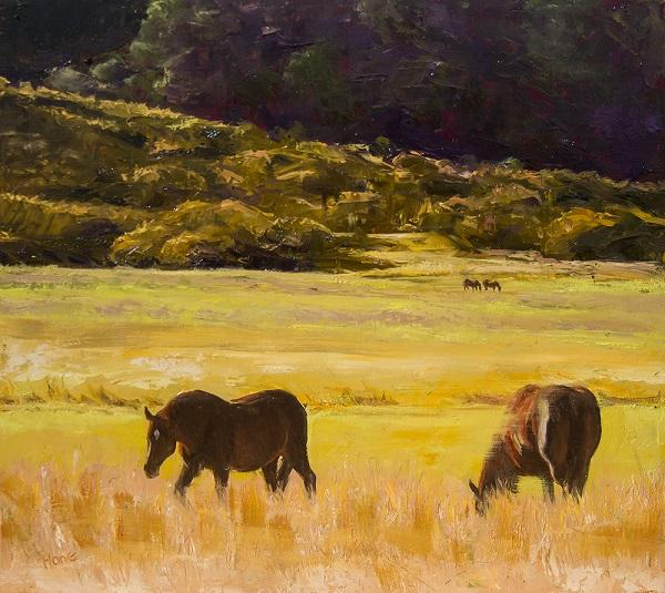 Four Horses by Hone Williams w/permission