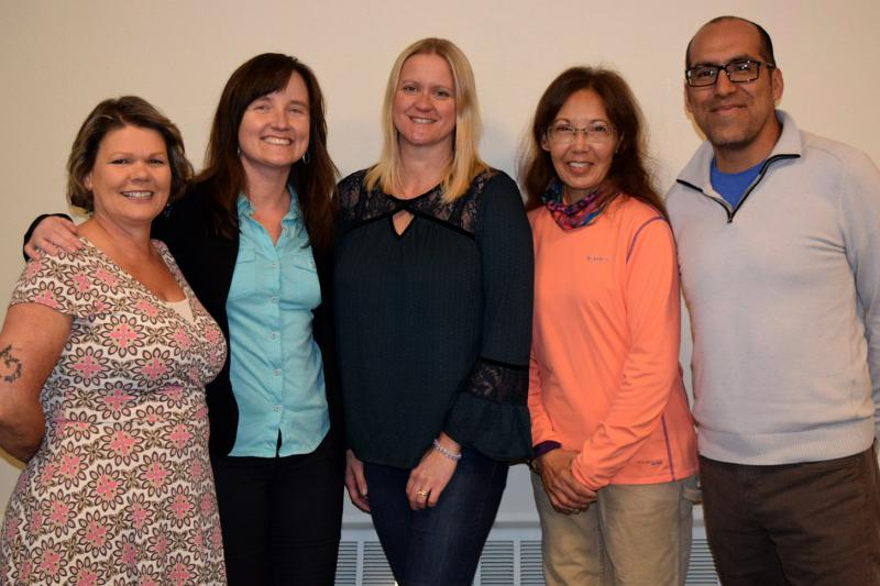 Carbondale Town Trustee candidates, from l to r: April Spaulding, incumbent Erica Sparhawk, incumbent Heather Henry, Lani Kitching, incumbent Luis Yllanes.