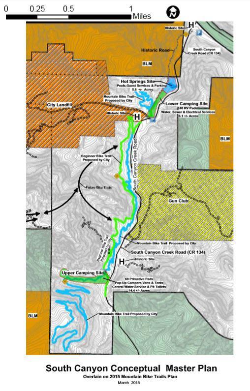 South Canyon Conceptual Master Plan