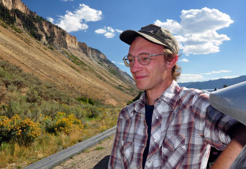 Oregon activist Alex Budd organized a multi-state tour, protesting the proposed Jordan Cove LNG plant/pipeline project.