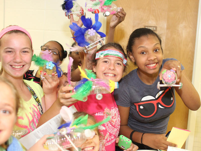Girl Scouts Power Up Camp