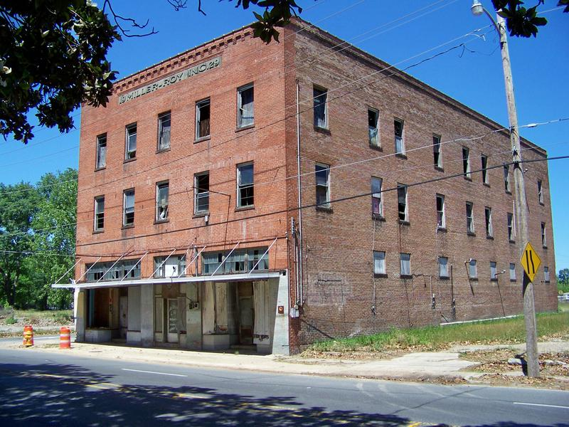 Miller-Roy building in dowtown Monroe
