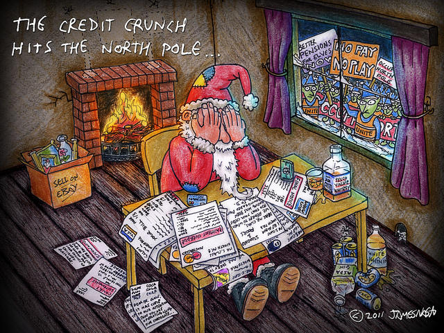 Christmas- Paying Off Shopping Debt