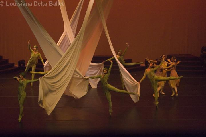 """The Louisiana Delta Ballet performs a special Easter performance of """"Power and Grace."""""""
