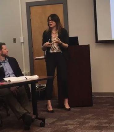 Kelsea McRary, representing the Ouachita Business Alliance and CenturyLink explained how millenials integrate themselves into the community. The #NELAMILLS seminar taught businesses how to connect with the millennial generation.