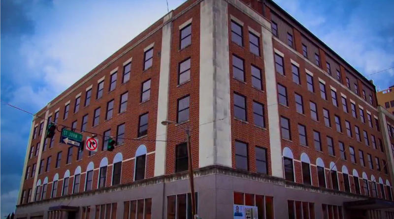 Vantage Health Plan is renovating Monroe's downtown state office building, formerly the Virginia Hotel.