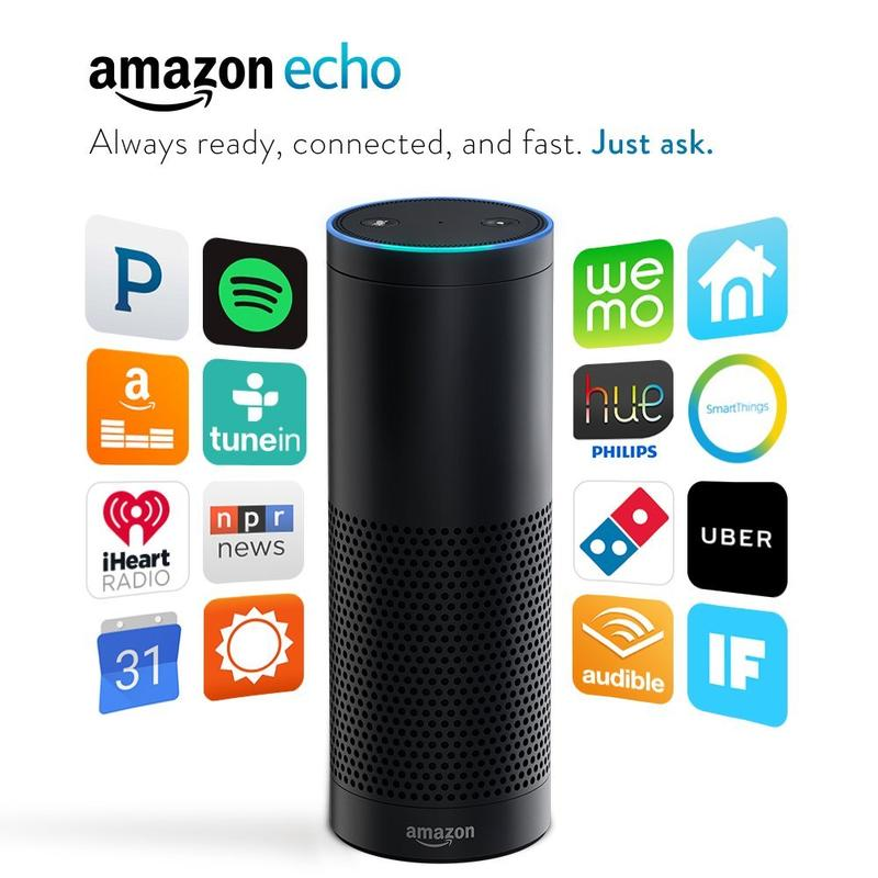 Enter to win an Amazon Echo!