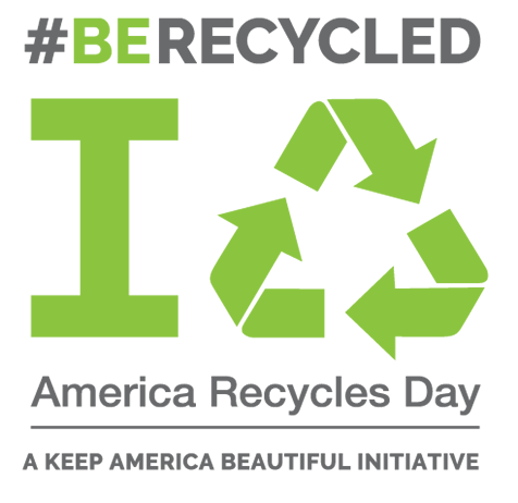 America Recycles Day is an opportunity to recycle items to keep waste out of landfills, waterways and natural environment.