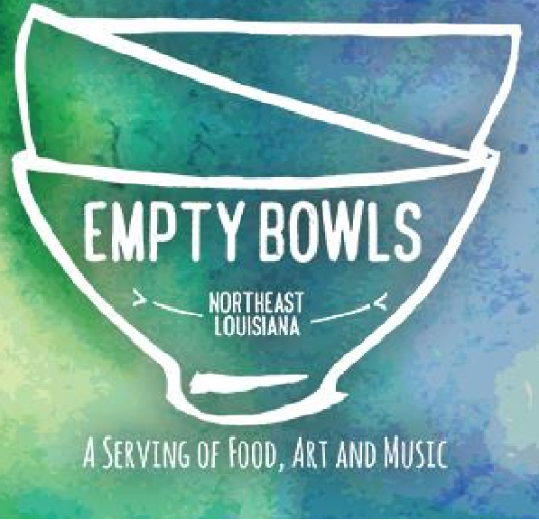 Empty Bowls is a family friendly lunch event to help fight hunger in Northeast Louisiana.