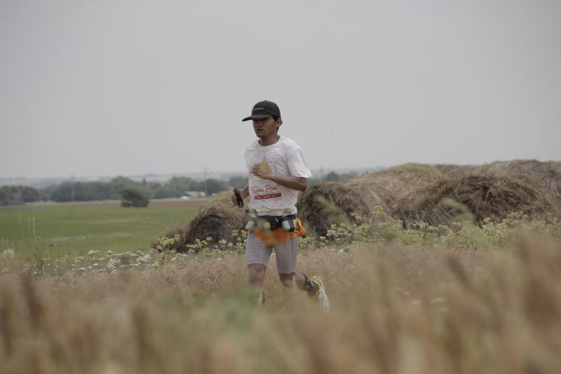 Carlos Ibarra averaged 45 miles a day of running on his 72 day journey.