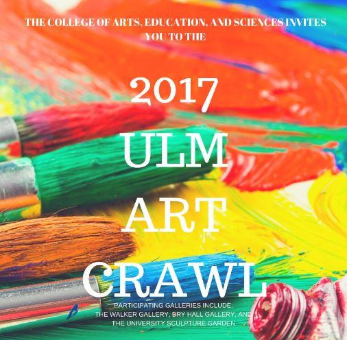 The ULM Art Crawl is held once every semester.