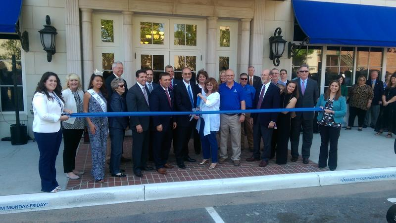 Vantage Health Plan cut the ribbon for the Vantage State Building.