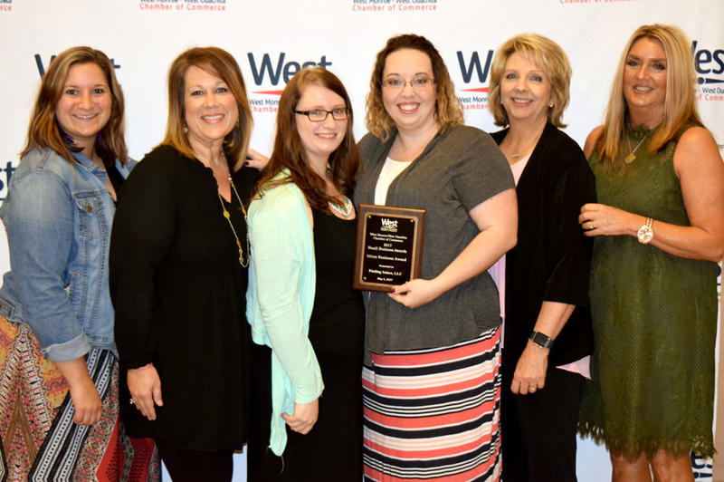 As part of the West Monroe West Ouachita Small Business Awards, The Micro Business Award went to Finding Solace Counseling.