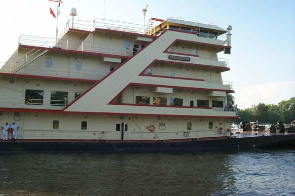 MV Mississippi will visit Shreveport, Alexandria and Natchitoches