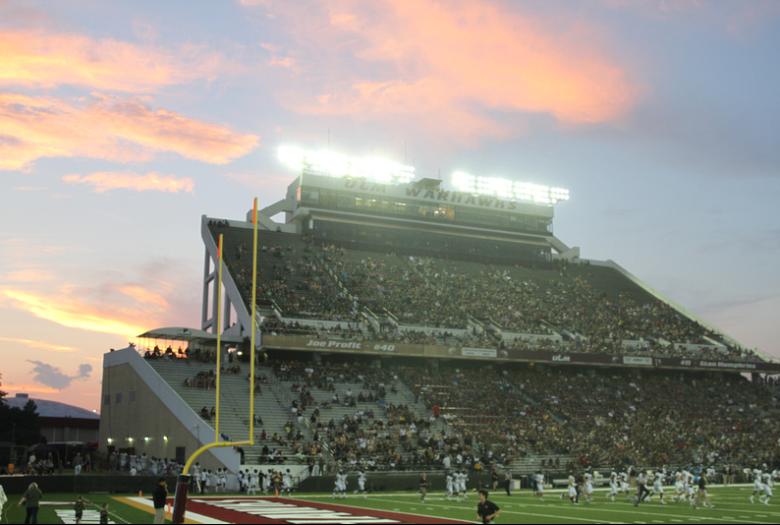 Malon Stadium is the home of the ULM Warhawks.