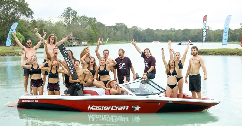 2017 ULM Water Ski Team & Coaches