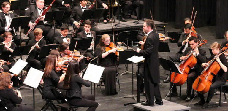 The Monroe Symphony Orchestra, founded in 1971, was organized as a community orchestra.