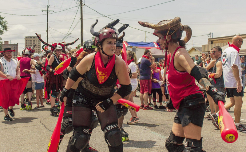 Roe City Rollers is Monroe's original roller derby league and was established in 2011.