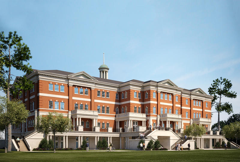 The Edward Via College of Osteopathic Medicine proposes a new building on the ULM campus on the banks of Bayou DeSiard.