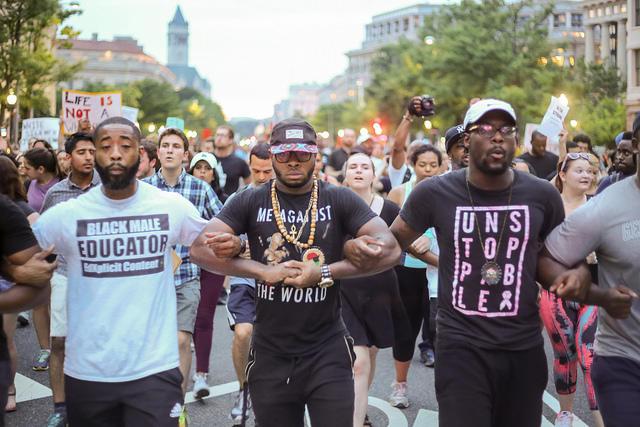 Washington DC Alton Sterling protest