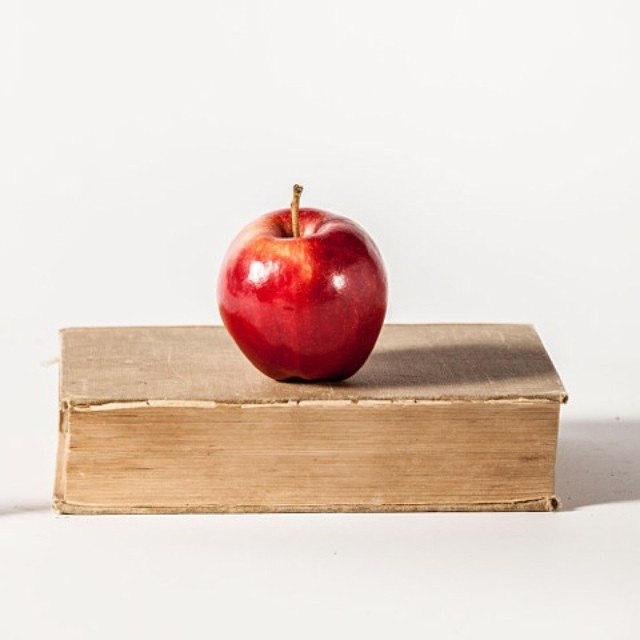 #Teacher #Apple #Book