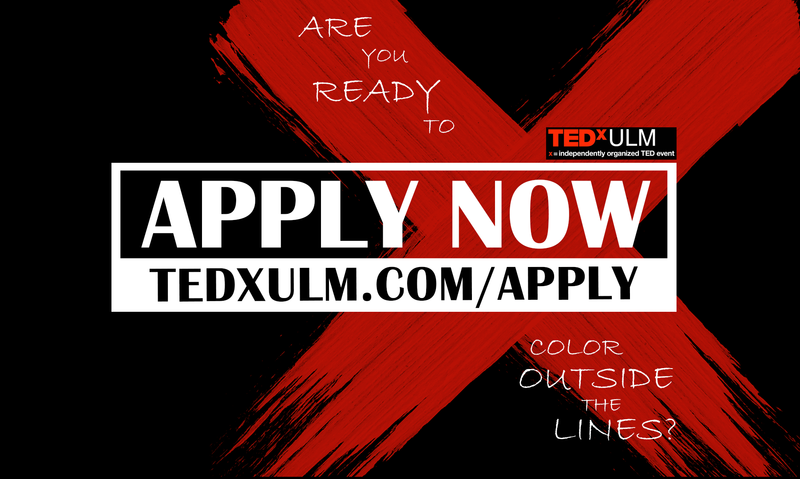 TEDxULM collects applications until Nov. 18, 2018.