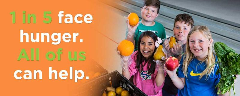 Groups can volunteer at the Food Bank of NELA.