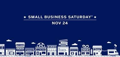 Shopping at small businesses supports the local economy.