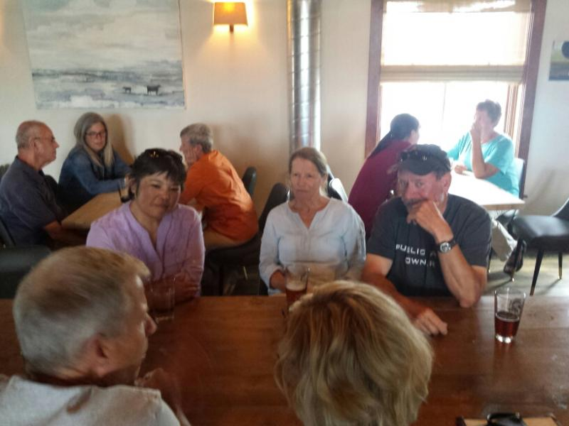 YPR's Jackie Yamanaka talks with Bozeman supporters!