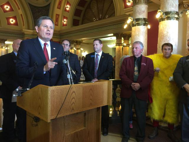 Montana Senator Steve Daines